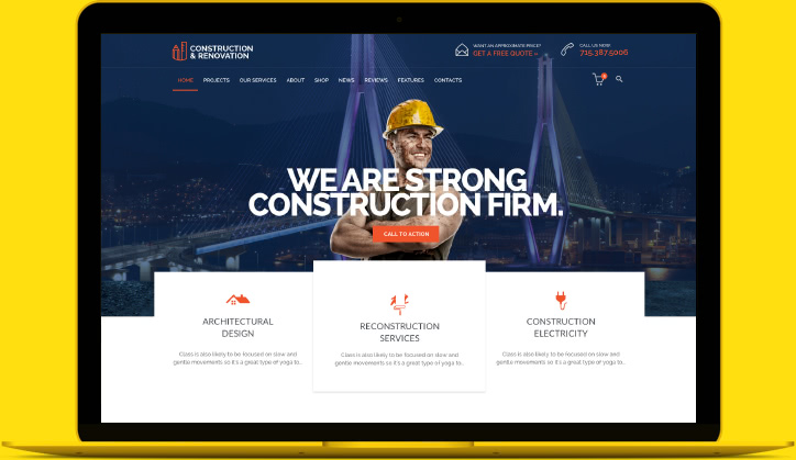 Vamtam themes | construction